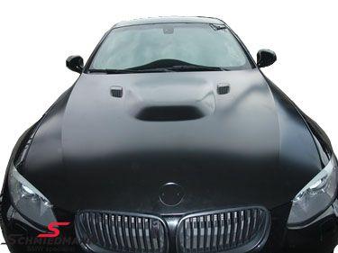 Motorhjelm EVO med luftindtag i rigtigt metal (ingen glasfiber)